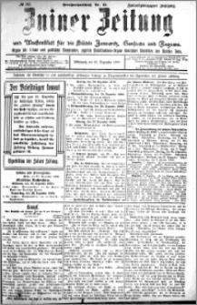 Zniner Zeitung 1909.12.22 R. 22 nr 102
