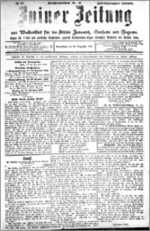 Zniner Zeitung 1909.12.25 R. 22 nr 103