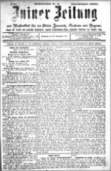 Zniner Zeitung 1909.12.29 R. 22 nr 104