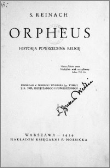 Orpheus : historja powszechna religij