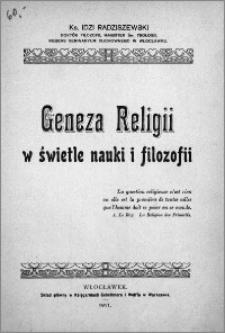 Geneza religii w świetle nauki i filozofii