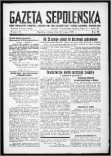 Gazeta Sępoleńska 1937, R. 11, nr 15