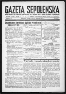 Gazeta Sępoleńska 1937, R. 11, nr 25