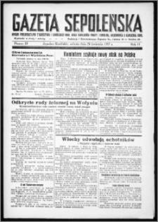 Gazeta Sępoleńska 1937, R. 11, nr 33