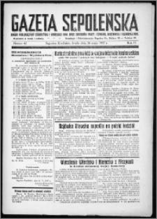 Gazeta Sępoleńska 1937, R. 11, nr 42