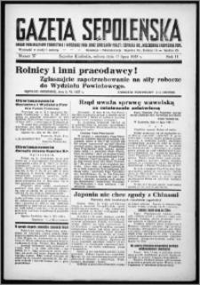 Gazeta Sępoleńska 1937, R. 11, nr 57