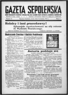 Gazeta Sępoleńska 1937, R. 11, nr 72
