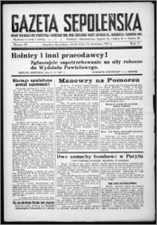Gazeta Sępoleńska 1937, R. 11, nr 74
