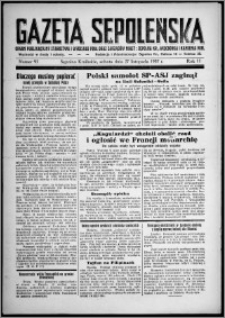 Gazeta Sępoleńska 1937, R. 11, nr 95