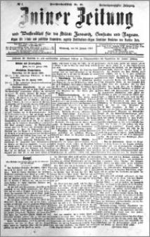 Zniner Zeitung 1910.01.12 R. 23 nr 4