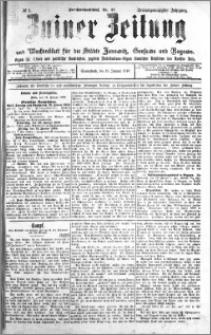 Zniner Zeitung 1910.01.15 R. 23 nr 5