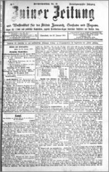 Zniner Zeitung 1910.01.22 R. 23 nr 7