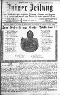 Zniner Zeitung 1910.01.26 R. 23 nr 8
