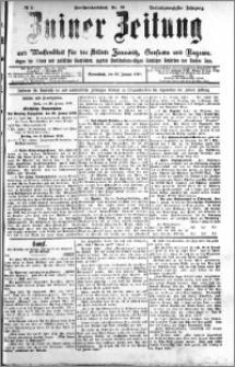Zniner Zeitung 1910.01.29 R. 23 nr 9
