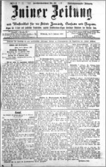 Zniner Zeitung 1910.02.09 R. 23 nr 12