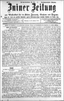 Zniner Zeitung 1910.02.23 R. 23 nr 16