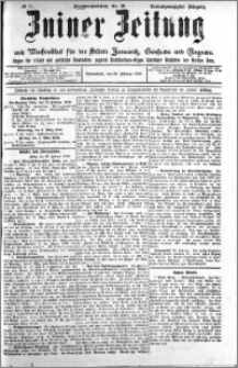 Zniner Zeitung 1910.02.26 R. 23 nr 17
