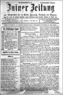 Zniner Zeitung 1910.03.26 R. 23 nr 25