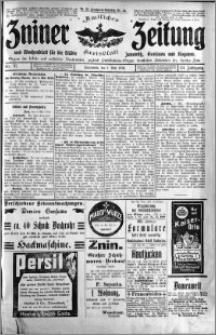 Zniner Zeitung 1910.05.07 R. 23 nr 37