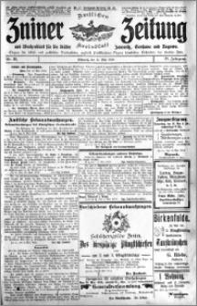 Zniner Zeitung 1910.05.11 R. 23 nr 38