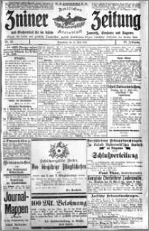Zniner Zeitung 1910.05.14 R. 23 nr 39