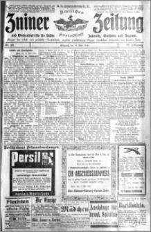 Zniner Zeitung 1910.05.18 R. 23 nr 40