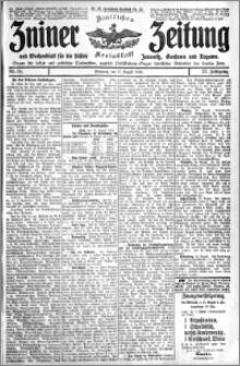 Zniner Zeitung 1910.08.17 R. 23 nr 66