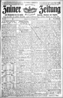 Zniner Zeitung 1910.08.20 R. 23 nr 67