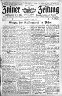 Zniner Zeitung 1910.08.24 R. 23 nr 68