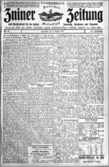 Zniner Zeitung 1910.08.27 R. 23 nr 69