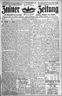 Zniner Zeitung 1910.09.03 R. 23 nr 71