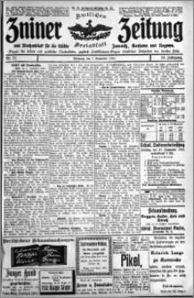 Zniner Zeitung 1910.09.07 R. 23 nr 72
