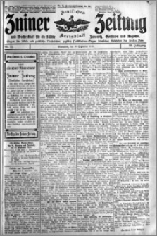 Zniner Zeitung 1910.09.10 R. 23 nr 73