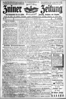 Zniner Zeitung 1910.09.14 R. 23 nr 74