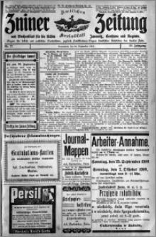 Zniner Zeitung 1910.09.24 R. 23 nr 77