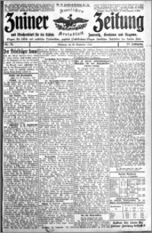 Zniner Zeitung 1910.09.28 R. 23 nr 78