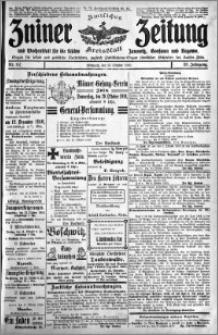 Zniner Zeitung 1910.10.12 R. 23 nr 82