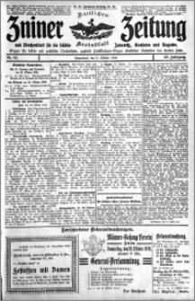 Zniner Zeitung 1910.10.15 R. 23 nr 83