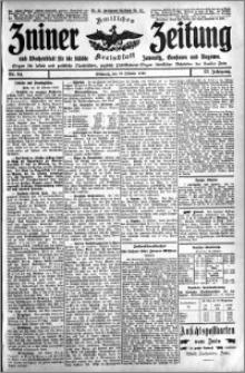 Zniner Zeitung 1910.10.19 R. 23 nr 84