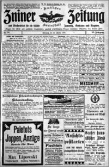 Zniner Zeitung 1910.10.26 R. 23 nr 86