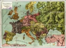 Momentaufnahme von Europa und Halbasien 1914