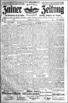 Zniner Zeitung 1911.05.03 R. 24 nr 35