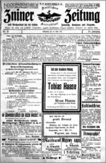Zniner Zeitung 1911.05.10 R. 24 nr 37