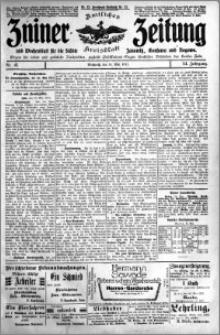 Zniner Zeitung 1911.05.24 R. 24 nr 41