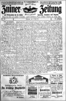 Zniner Zeitung 1911.05.31 R. 24 nr 43