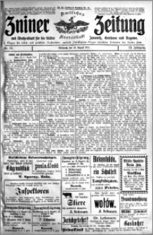 Zniner Zeitung 1911.08.16 R. 24 nr 65