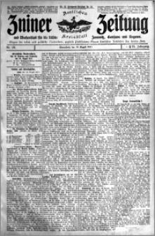 Zniner Zeitung 1911.08.19 R. 24 nr 66