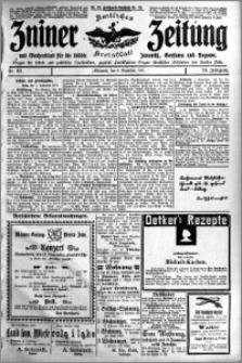 Zniner Zeitung 1911.11.08 R. 24 nr 89