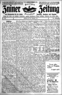 Zniner Zeitung 1911.11.22 R. 24 nr 93