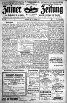 Zniner Zeitung 1911.11.25 R. 24 nr 94